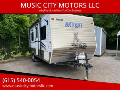 2014 skycat M-183B for sale at MUSIC CITY MOTORS LLC in Nashville TN