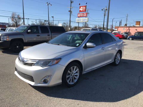 2013 Toyota Camry for sale at 4th Street Auto in Louisville KY