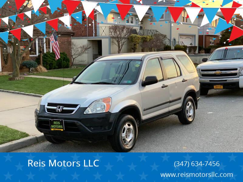2004 Honda CR-V for sale at Reis Motors LLC in Lawrence NY