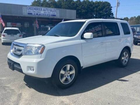2009 Honda Pilot for sale at Greenbrier Auto Sales in Greenbrier AR