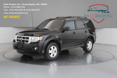 2011 Ford Escape for sale at Elvis Auto Sales LLC in Grand Rapids MI