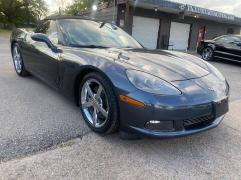 2009 Chevrolet Corvette for sale at Texas Luxury Auto in Houston TX