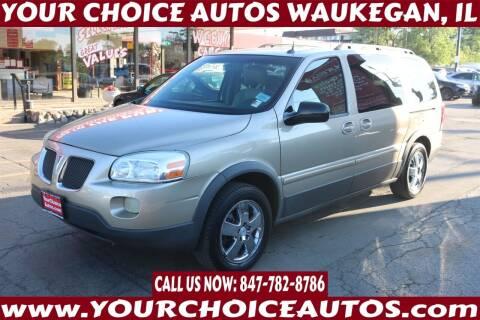 2005 Pontiac Montana SV6 for sale at Your Choice Autos - Waukegan in Waukegan IL