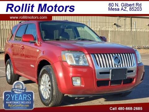 2008 Mercury Mariner for sale at Rollit Motors in Mesa AZ