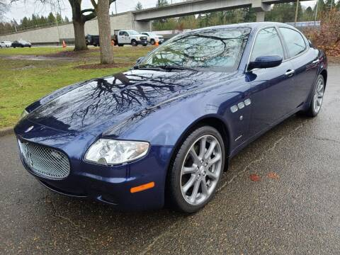 2006 Maserati Quattroporte for sale at EXECUTIVE AUTOSPORT in Portland OR