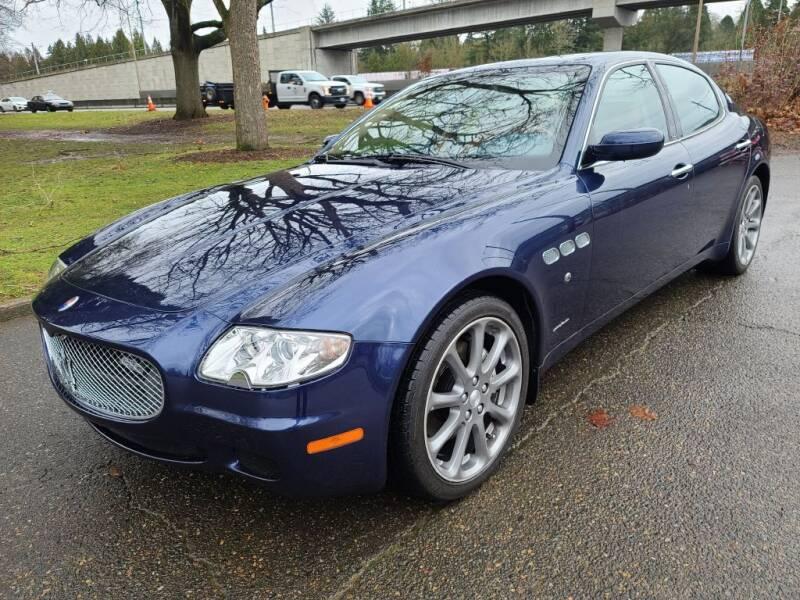 2006 Maserati Quattroporte for sale at EXECUTIVE AUTOSPORT in Portland OR
