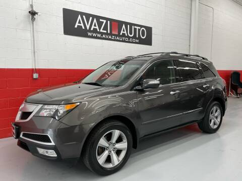 2012 Acura MDX for sale at AVAZI AUTO GROUP LLC in Gaithersburg MD