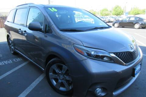 2016 Toyota Sienna for sale at Choice Auto & Truck in Sacramento CA