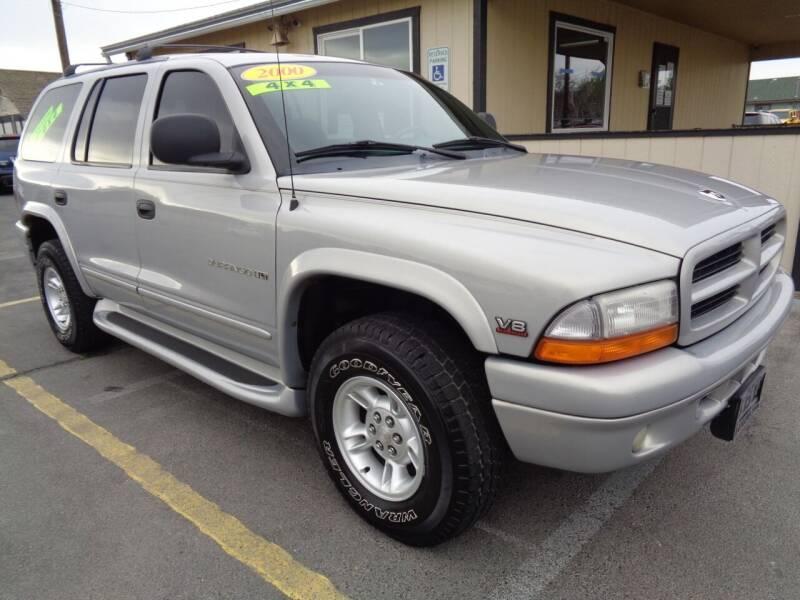 2000 Dodge Durango for sale at BBL Auto Sales in Yakima WA