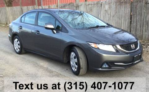 2013 Honda Civic for sale at Pete Kitt's Automotive Sales & Service in Camillus NY