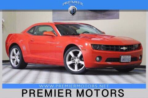 2010 Chevrolet Camaro for sale at Premier Motors in Hayward CA