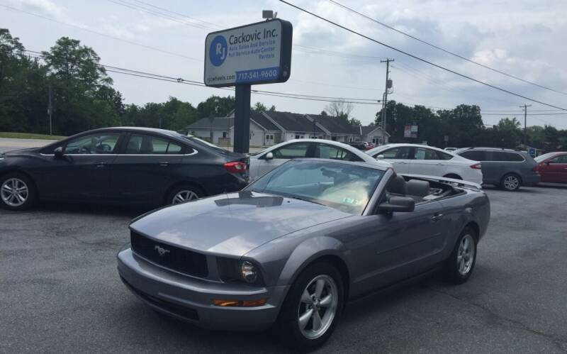 2006 Ford Mustang for sale at R J Cackovic Auto Sales, Service & Rental in Harrisburg PA