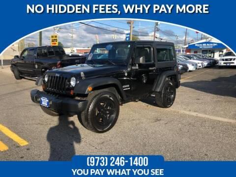 2011 Jeep Wrangler for sale at Route 46 Auto Sales Inc in Lodi NJ
