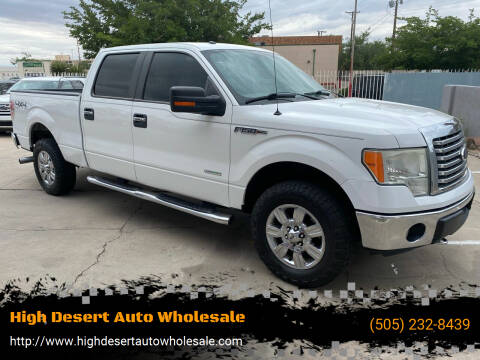 2012 Ford F-150 for sale at High Desert Auto Wholesale in Albuquerque NM