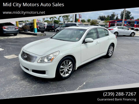 2008 Infiniti G35 for sale at Mid City Motors Auto Sales in Fort Myers FL