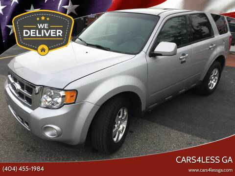 2012 Ford Escape for sale at Cars4Less GA in Alpharetta GA