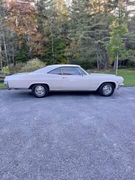 1965 Chevrolet Impala for sale at Essex Motorsport, LLC in Essex Junction VT