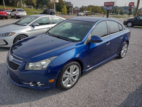 2012 Chevrolet Cruze for sale at Wholesale Auto Inc in Athens TN