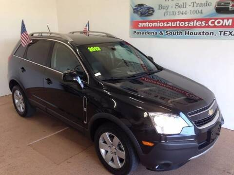 2012 Chevrolet Captiva Sport for sale at Antonio's Auto Sales - Antonio`s  2206 in Pasadena TX