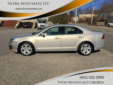 2010 Ford Fusion for sale at Ultra Auto Sales, LLC in Cumberland RI