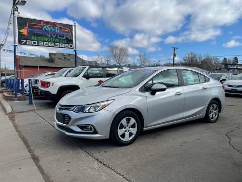 2018 Chevrolet Cruze for sale at AWD Denver Automotive LLC in Englewood CO