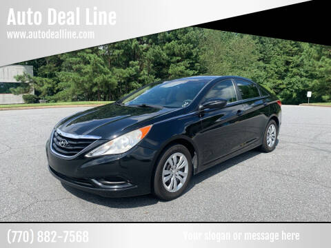 2012 Hyundai Sonata for sale at Auto Deal Line in Alpharetta GA