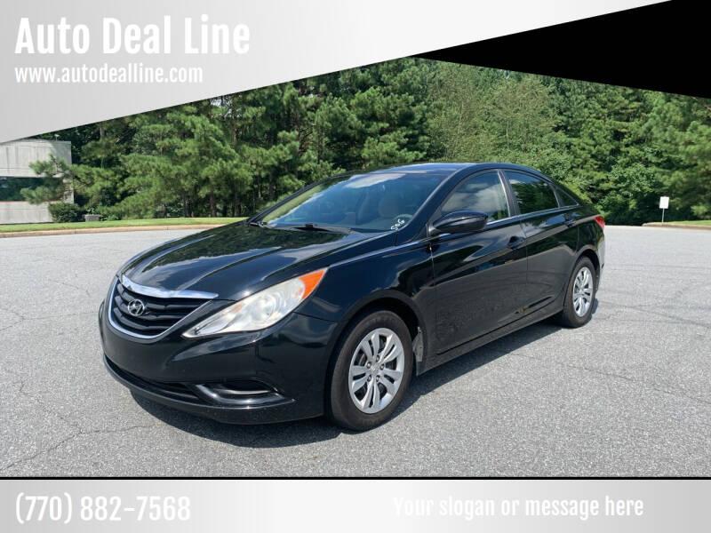 2012 Hyundai Sonata for sale at Auto Deal Line in Alpharetta GA