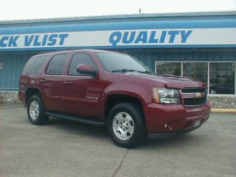 2007 Chevrolet Tahoe for sale at Dick Vlist Motors, Inc. in Port Orchard WA