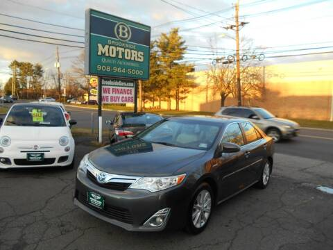 2012 Toyota Camry Hybrid for sale at Brookside Motors in Union NJ