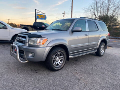 2006 Toyota Sequoia for sale at Dubes Auto Sales in Lewiston ME