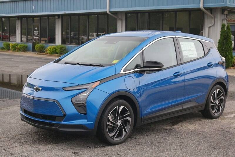 2022 Chevrolet Bolt EV for sale at STRICKLAND AUTO GROUP INC in Ahoskie NC