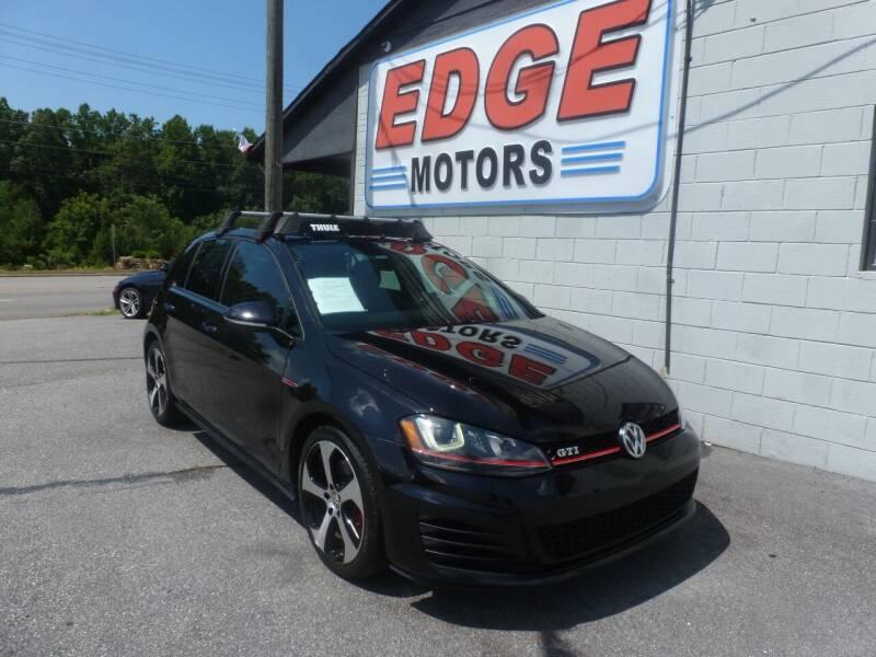 2015 Volkswagen Golf GTI for sale at Edge Motors in Mooresville NC