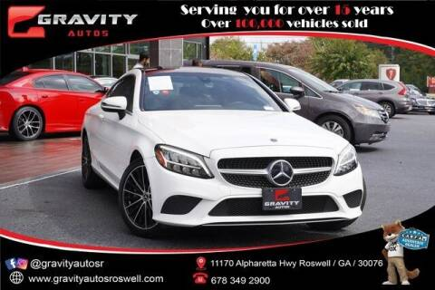 2019 Mercedes-Benz C-Class for sale at Gravity Autos Roswell in Roswell GA