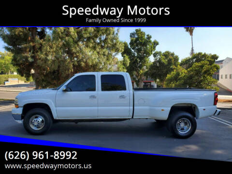 2001 Chevrolet Silverado 3500 for sale at Speedway Motors in Glendora CA
