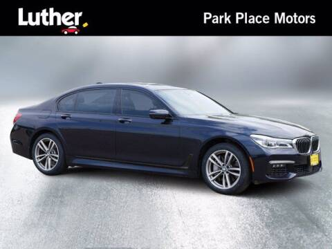 2016 BMW 7 Series for sale at Park Place Motor Cars in Rochester MN