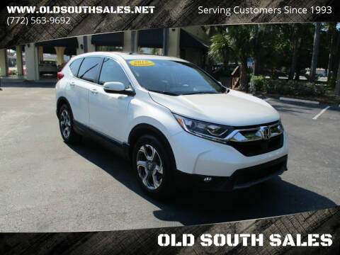 2018 Honda CR-V for sale at OLD SOUTH SALES in Vero Beach FL