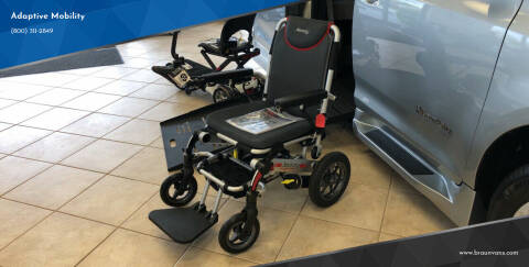 2019 Pride Mobility Jazzy Passport Folding Scooter for sale at Adaptive Mobility Wheelchair Vans in Seekonk MA