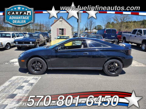 2000 Toyota Celica for sale at FUELIN FINE AUTO SALES INC in Saylorsburg PA