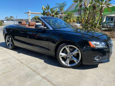 2011 Audi A5 for sale at Luxury Auto Lounge in Costa Mesa CA