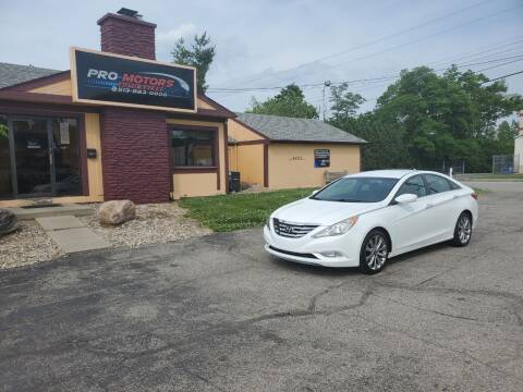 2011 Hyundai Sonata for sale at Pro Motors in Fairfield OH