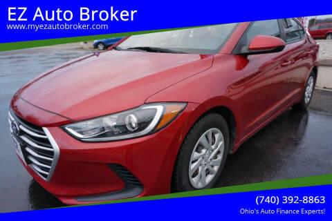 2017 Hyundai Elantra for sale at EZ Auto Broker in Mount Vernon OH