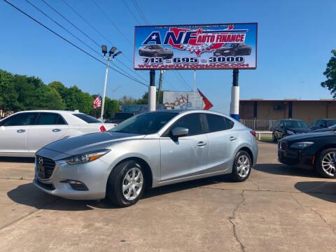 2017 Mazda MAZDA3 for sale at ANF AUTO FINANCE in Houston TX