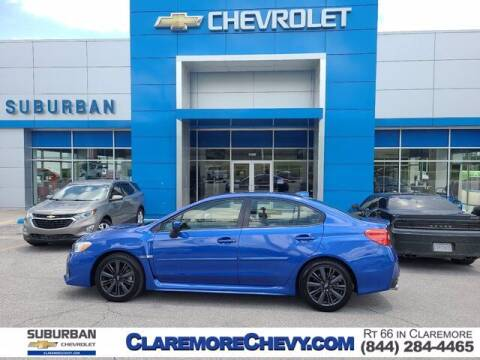 2020 Subaru WRX for sale at Suburban Chevrolet in Claremore OK