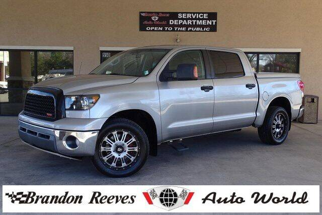 2008 Toyota Tundra for sale at Brandon Reeves Auto World in Monroe NC