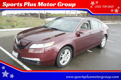 2009 Acura TL for sale at Sports Plus Motor Group LLC in Sunnyvale CA