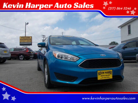 2015 Ford Focus for sale at Kevin Harper Auto Sales in Mount Zion IL