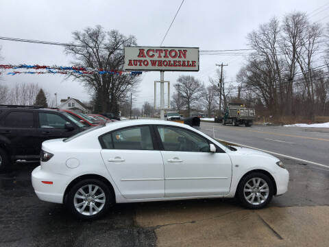 2008 Mazda MAZDA3 for sale at Action Auto Wholesale in Painesville OH