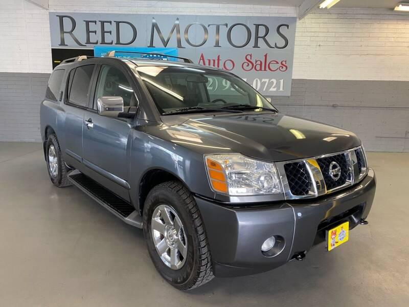 2007 Nissan Armada for sale at REED MOTORS LLC in Phoenix AZ