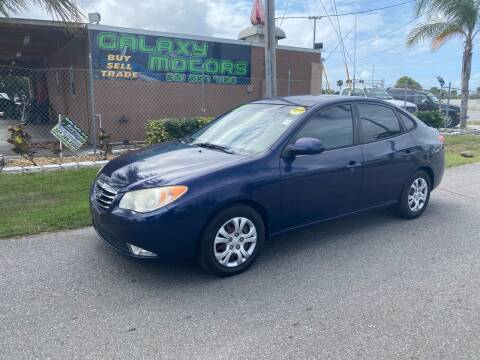 2010 Hyundai Elantra for sale at Galaxy Motors Inc in Melbourne FL