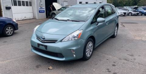 2013 Toyota Prius v for sale at Manchester Auto Sales in Manchester CT